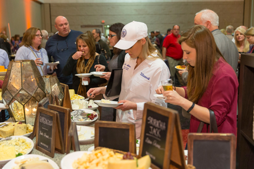 Event goers can taste more than 50 of the nation's finest cheeses