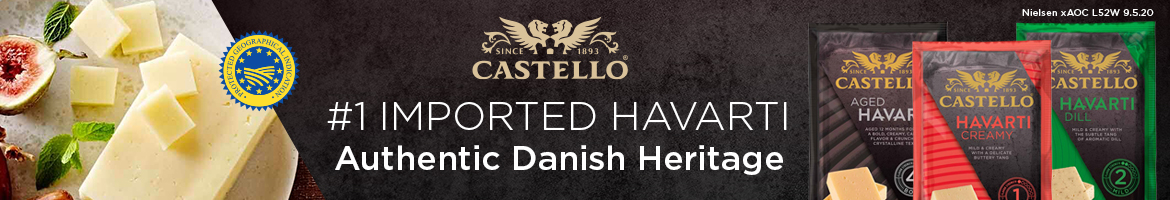 Castello - Number one imported havarti - Authentic Danish Heritage