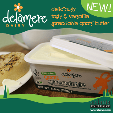 Atalanta - Delamere - Deliciously tasty and versatile spreadable goat's butter