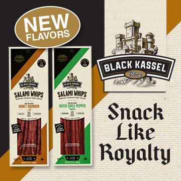Black Kassel - Snack like royalty - New Flavors