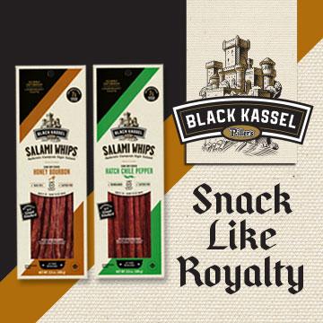 Black Kassel - Snack like royalty - New Flavors