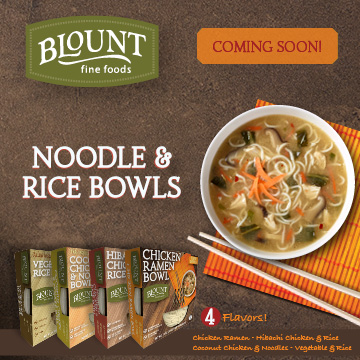 Blount - Coming Soon - Noodle and Rice Bowls
