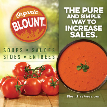 Blount - The Pure and Simple Way to Increase Sales - Soups - Sauces - Sides - Entrees