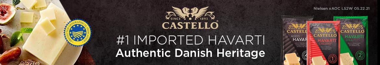 Castello - Number one imported havarti - Authentic Danish Heritage