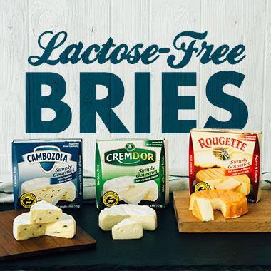 Lactose-Free Bries
