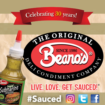 The Original Beano's Celebrating 30 Years Visit us at IDDBA Booth 4253 to get your picture taken AS the Beano's Bottle #sauced