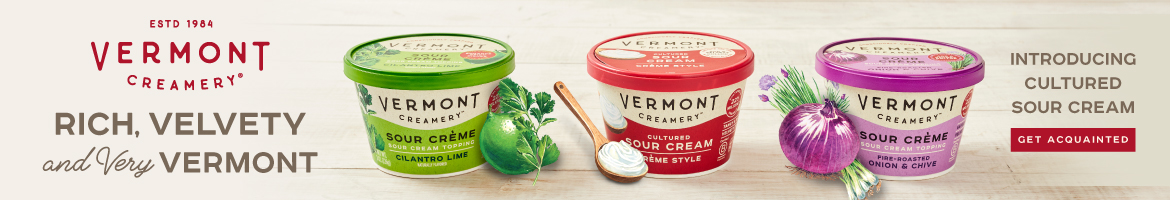 Introducing Cultured Sour Cream from Vermont Creamery