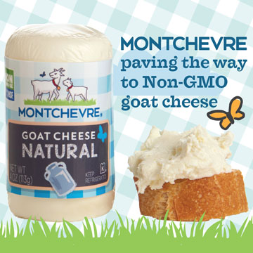 Montchevre: Paving the Way to Non-GMO Goat Cheese