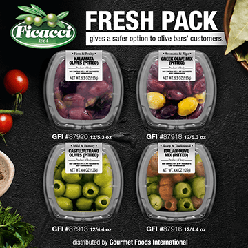Ficacci - Fresh Pack gives a safer option to olive bar's customers