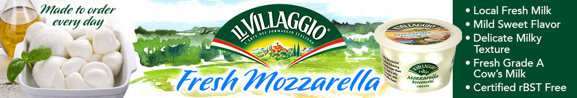 Il Villaggio - Fresh Mozzarella - Made to order everyday