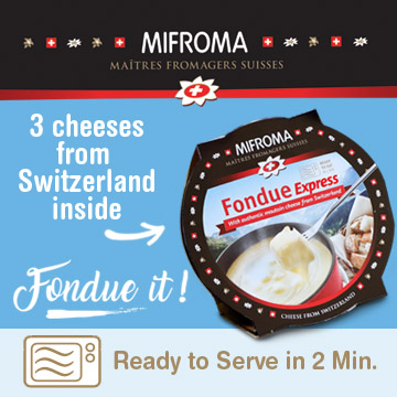 Mifroma - Turn an Boring Lunch into a Great Lunch ... fondue it - Microwaveable cup ready to serve in 2 minutes - How do you fondue