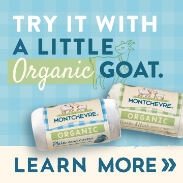 Try it With a Little Organic Goat