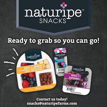 Naturipe Snacks - Ready to grab, so you can go