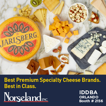 Norseland - Jarlsberg - Best Premium Specialty Cheese Brands - Best in class - IDDBA Booth 2156