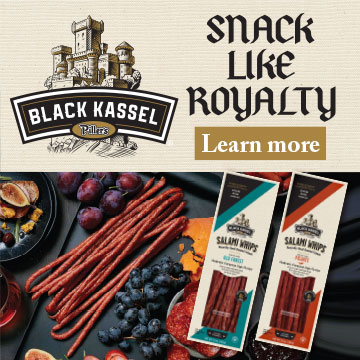 Piller's Black Kassel - Snack like Royalty with Black Kassel Salami Whips