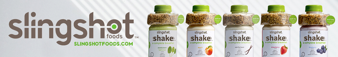 Slingshot Shakes. A complete breakfast.