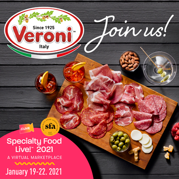 Veroni - Specialty Food Live 2021 - January 19-22 2021