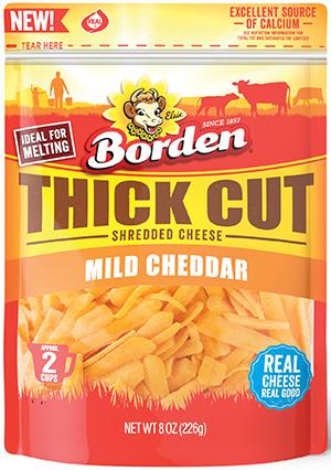 Borden Thick Cut Mild Cheddar
