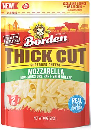 Borden Thick Cut Mozzarella