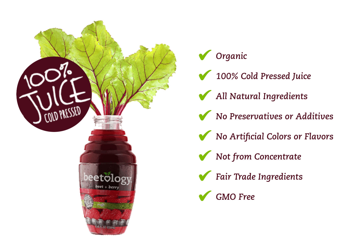 Beetology has created a delicious way to drink your beets for optimal health benefits