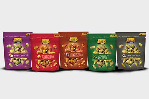 Setton has come out with a unique and nutritious snack of five varieties