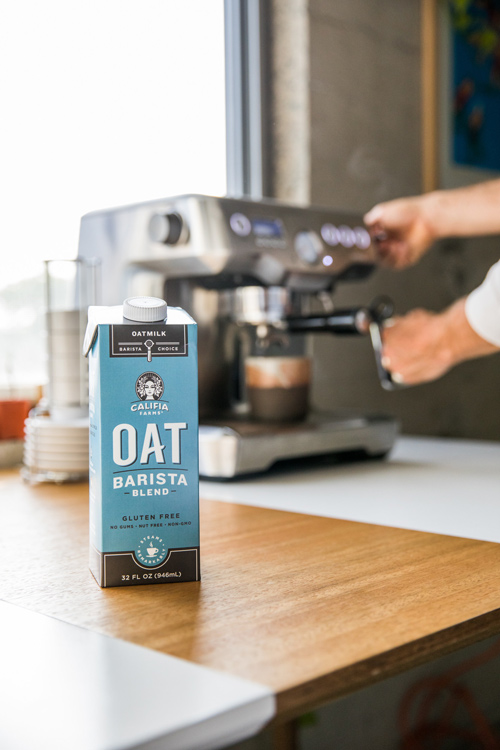 Oatmilk sales have been up 168 percent over the past year, with coffee shop-specific sales growing 425 percent since June 2017