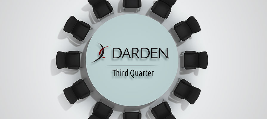 Darden Foresees Strong Q3 2016; Appoints Ricardo Cardenas as CFO