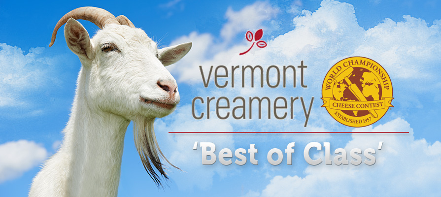 Vermont Creamery's Fresh Crottin Wins Best of Class at World Championship Cheese Contest