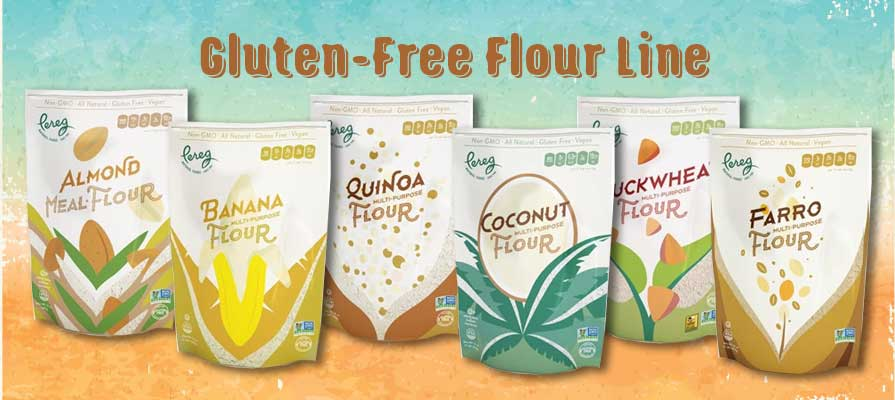 Pereg Natural Foods Extends Gluten-Free Flour Line with Six New Products