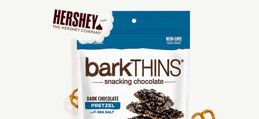 Hershey Acquires barkTHINS