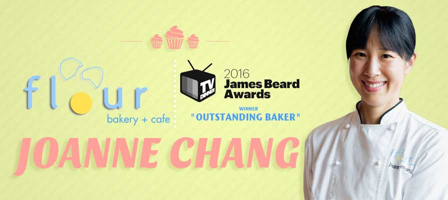 Joanne Chang Scoops Outstanding Baker Title in Coveted 2016 James Beard Awards, Winners Announced
