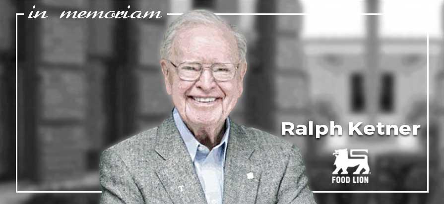 Food Lion Co-Founder, Ralph Ketner, Passes Away