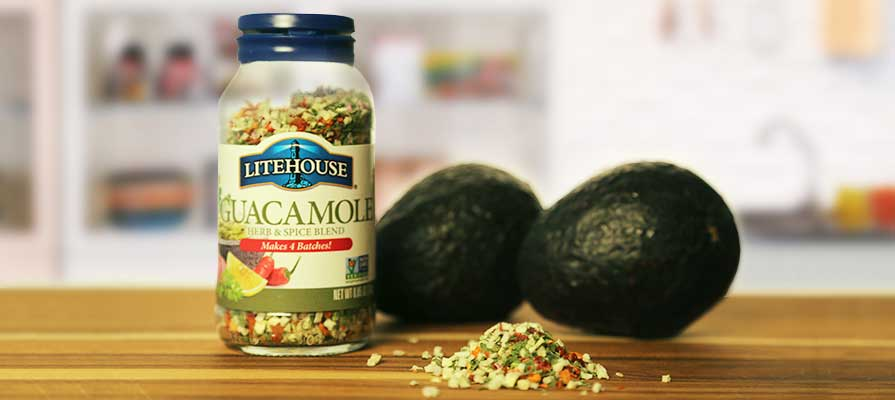 Litehouse Foods Launches New Guacamole Herb Blend