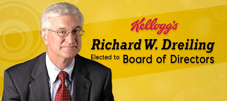 Kelloggs Company Elects Richard W. Dreiling to Board of Directors