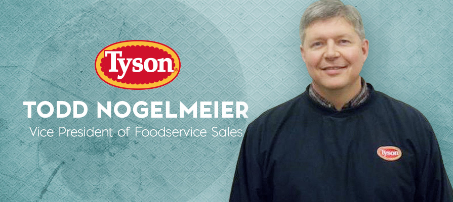 Todd Nogelmeier Named Vice President of Foodservice Sales for Tyson Fresh Meats
