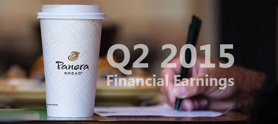 Panera Bread Reports Q2 2015 Financial Earnings