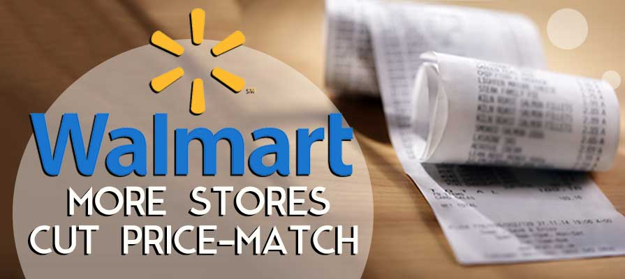 Walmart Cuts Price-Match From 300 More Stores