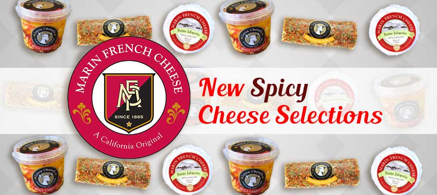 Marin French and Laura Chenel's Unveils New Spicy Cheese Selections
