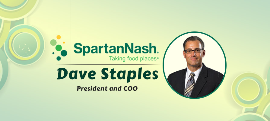 SpartanNash Appoints Dave Staples President and COO; Dennis Eidson Steps Down