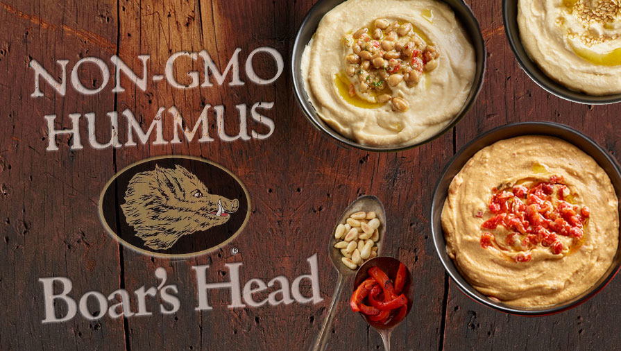 Boar's Head Hummus is Officially Certified Non-GMO