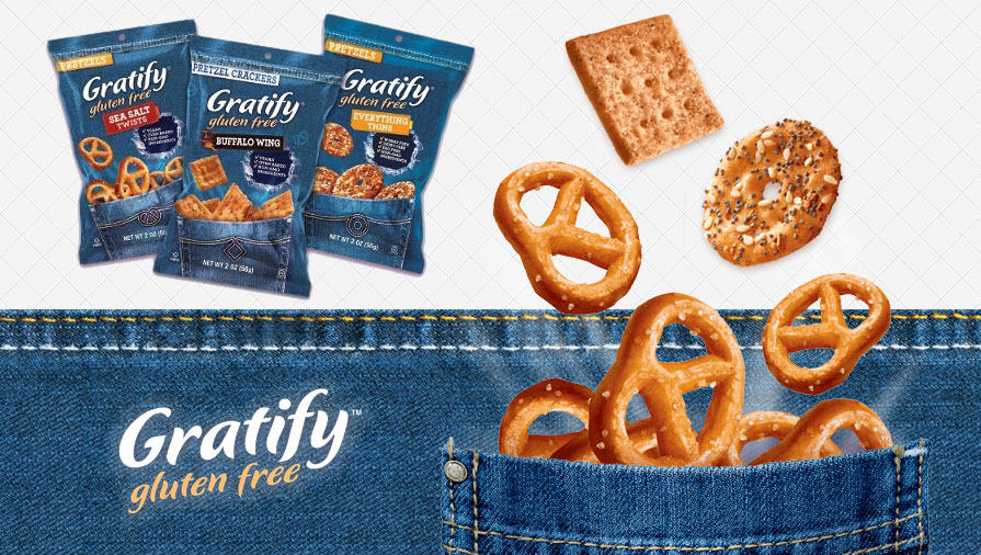 Gratify Gluten Free Foods Introduces New Smaller Size