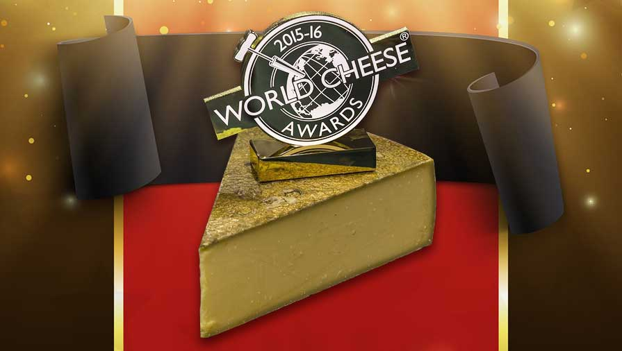 Le Gruyère AOP Premier Cru Crowned World Champion Cheese 2015