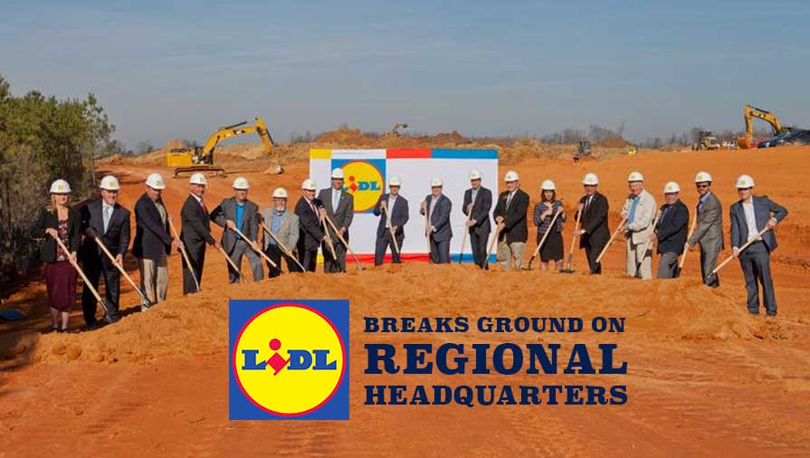 Lidl Breaks Ground on North Carolina Distibution Center with More Locations Already Planned