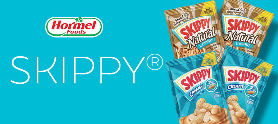 Hormel Debuts SKIPPY® Squeeze Packs