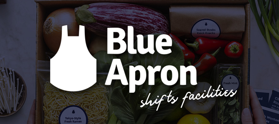 Blue Apron to Close New Jersey Facility, Moves Jobs