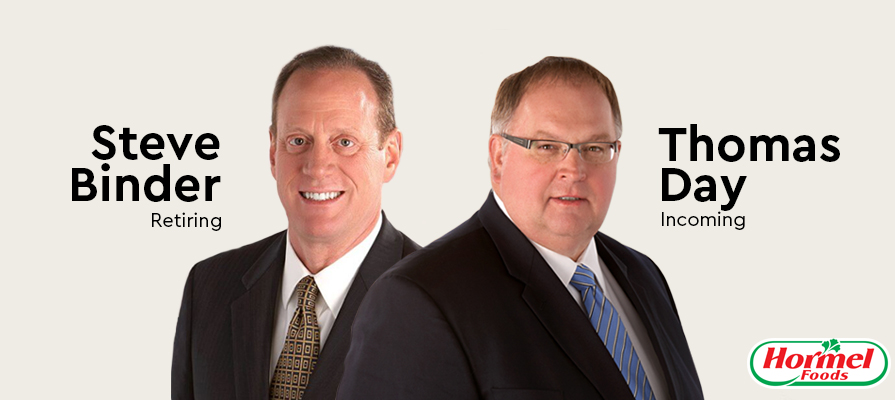 Hormel Foods Announces Leadership Changes as Steve Binder Retires