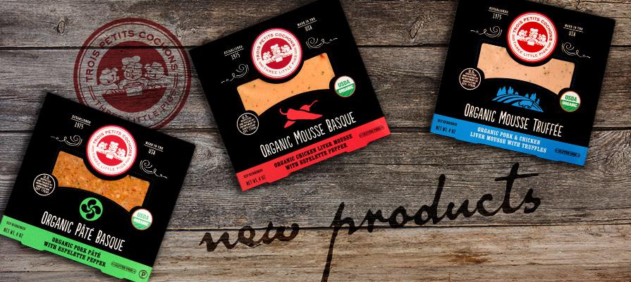 Les Trois Petits Cochons Launch Four New Products