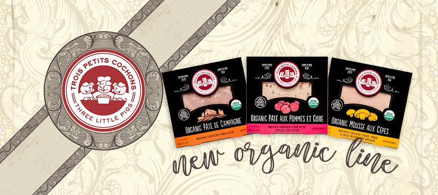Les Trois Petits Cochons Debuts Organic Pâté