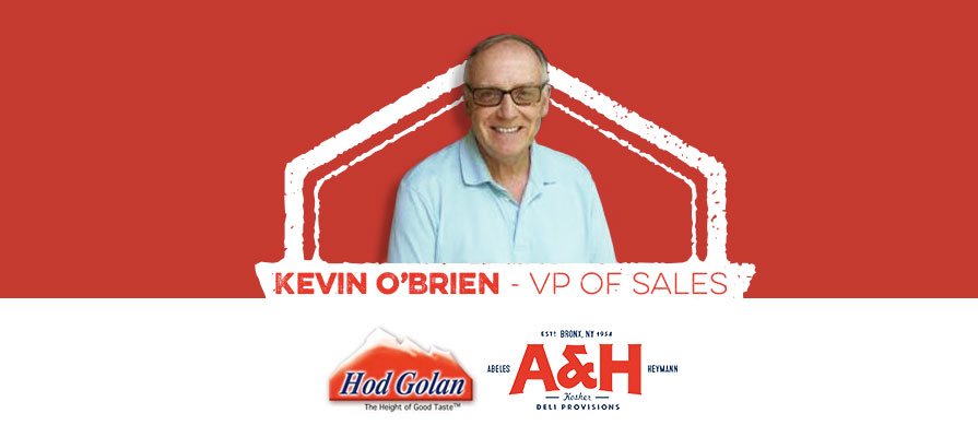 Hod Golan and Abeles & Heymann Tap Kevin O'Brien as New Vice President of Sales