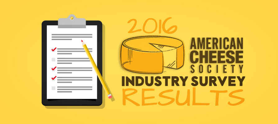 American Cheese Society Releases Findings from its 2016 State of the U.S. Artisan/Specialty Cheese Industry Survey